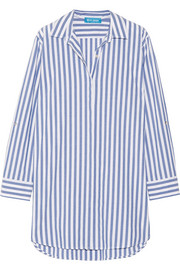 M.i.h Jeans Oversized striped cotton shirt