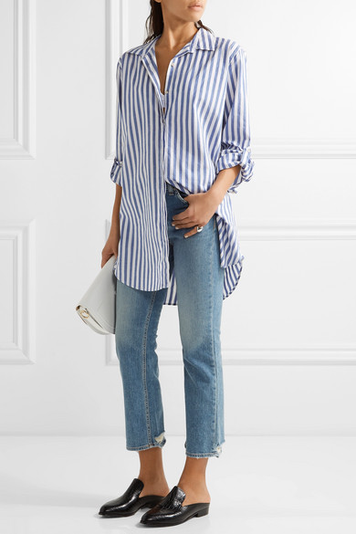 Mih Jeans striped shirt Buy Cheap Nicekicks Sale Inexpensive IND70