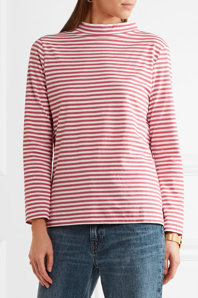 Emelie striped cotton top Mih Jeans Huge Surprise For Sale Discount Best Sale Outlet Choice Free Shipping Great Deals Best Supplier hbZFxGXm