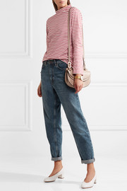 M.i.h Jeans Emelie striped cotton-jersey top