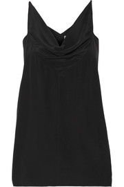 Rick Owens Draped satin tank