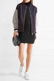 Equipment Oscar cashmere turtleneck mini dress