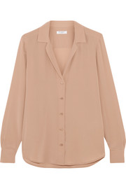Equipment Adalyn washed-silk shirt