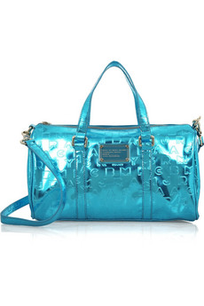 Marc by Marc Jacobs Fast Bag metallic bowling bag