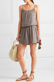 Heidi Klein Huntington Beach voile mini dress