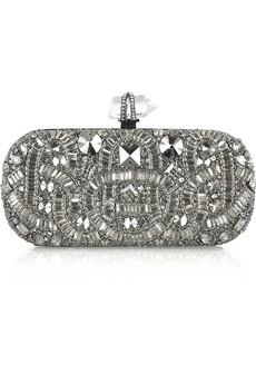 Marchesa|Swarovski crystal-embellished clutch|NET-A-PORTER.COM from net-a-porter.com
