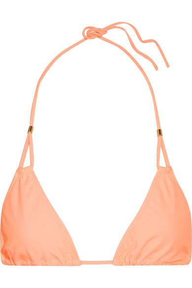 Heidi Klein - Bermuda Triangle Bikini Top - Peach