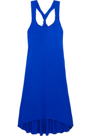 Lisbon twist-back jersey dress