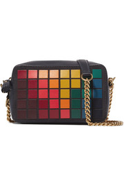 Anya Hindmarch Giant Pixels mini leather shoulder bag