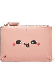 Anya Hindmarch Kawaii leather pouch