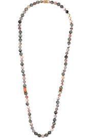 Recharmed 18-karat gold multi-stone necklace