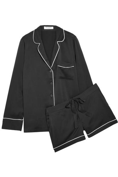 Equipment. Lillian washed-silk pajama set 11a6bd866
