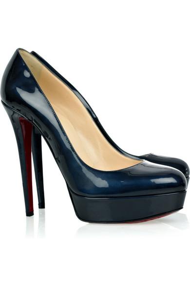 in stock f7e3e 5c5b7 Bianca 140 patent-leather pumps