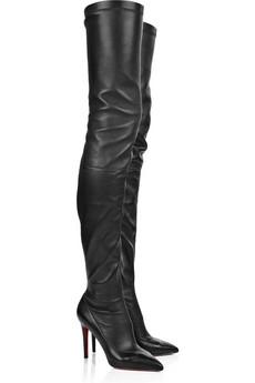 Christian Louboutin|Lili 100 thigh-high boots|NET-A-PORTER.COM from net-a-porter.com