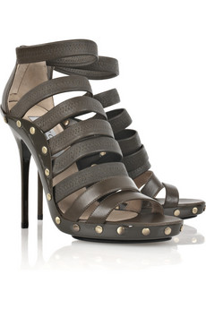 Jimmy Choo | Aston leather sandals | NET-A-PORTER.COM from net-a-porter.com
