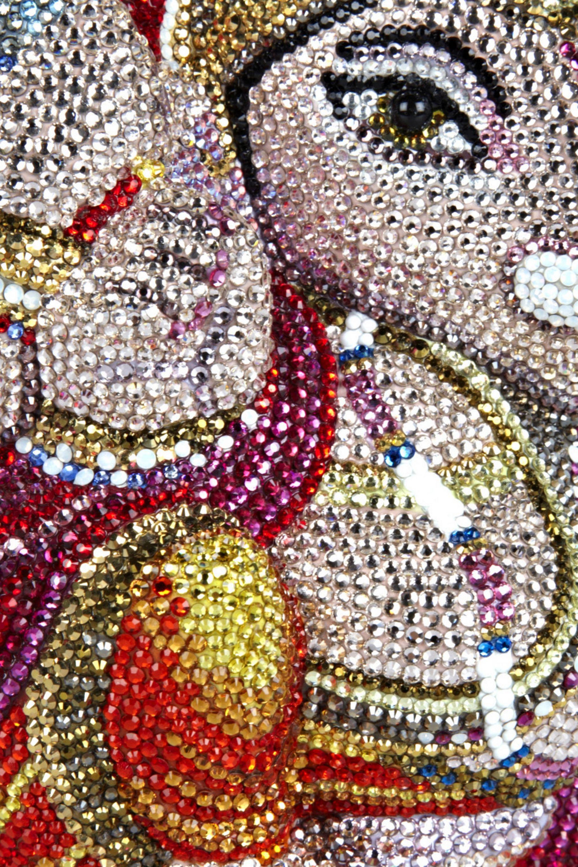 Judith Leiber Couture Ganesh fine crystal-embellished clutch