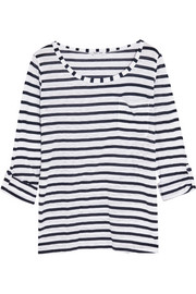 Splendid Venice striped slub-jersey top