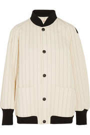 Marni Quilted cotton-blend bomber jacket