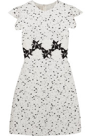 Giambattista Valli Embroidered tweed mini dress