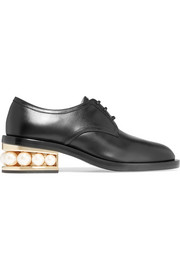Nicholas Kirkwood Casati Derby embellished leather brogues