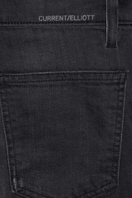 Current/Elliott The Barrel Crop high-rise wide-leg jeans
