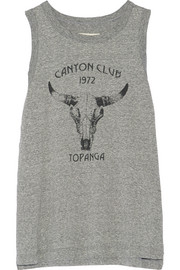 Current/Elliott Canyon Club printed mélange jersey tank