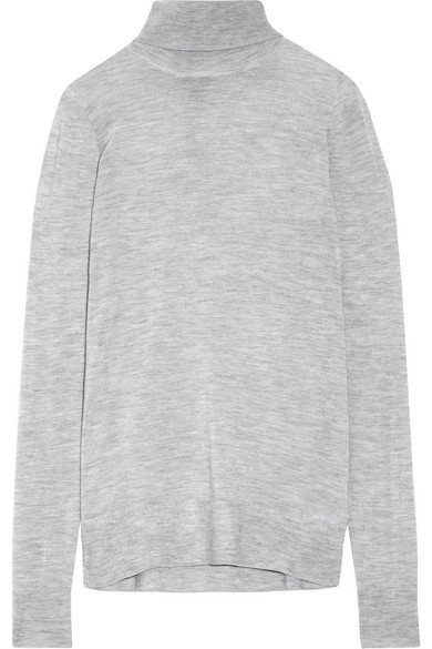 J.Crew - Cashmere Turtleneck Sweater - Gray