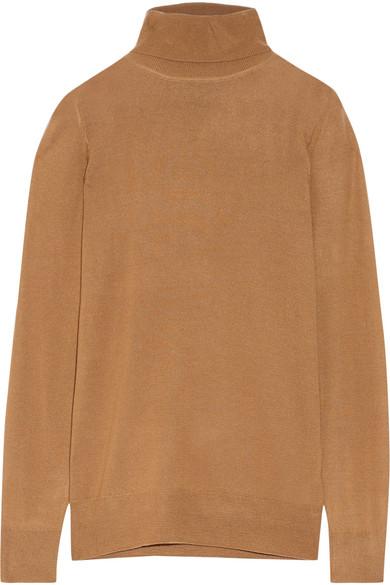 J.Crew - Cashmere Turtleneck Sweater - Camel