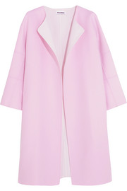Jil Sander Two-tone cashmere coat