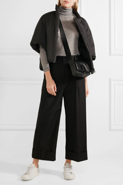 Jil Sander Cropped shell down jacket