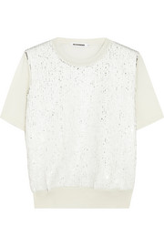 Jil Sander Sequin-embellished wool sweater