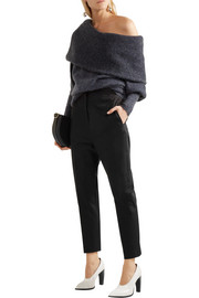 Jil Sander Stretch-cotton gabardine slim-leg pants