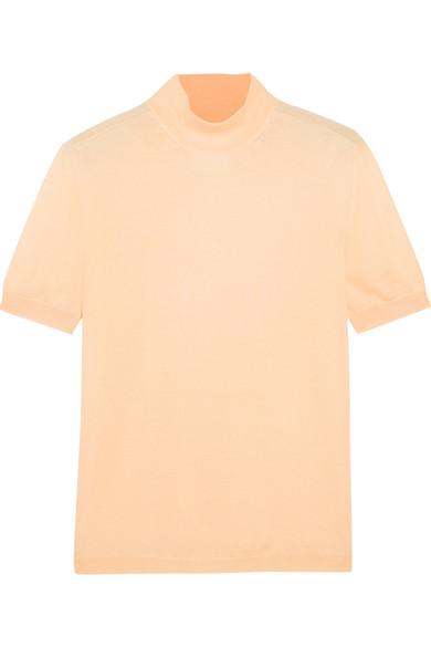 Jil Sander - Cashmere And Silk-blend Turtleneck Sweater - Peach