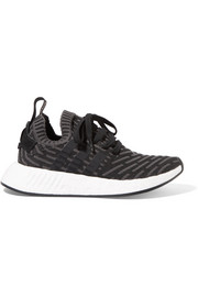 adidas Originals NMD_R2 rubber-paneled Primeknit sneakers