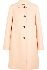Cotton-twill coat