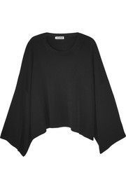 Jil Sander Oversized cropped knitted sweater