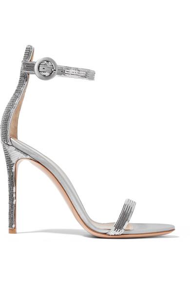 d0e5e945506 Gianvito Rossi. Portofino sequined satin sandals