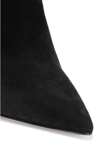 Preiswerte Qualität Gianvito Rossi 105 Ankle Boots aus Veloursleder Bester Speicher Billig Online Zu Bekommen Shop Für Online  Wie Viel E1RQx