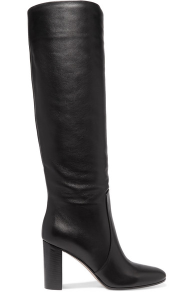 GIANVITO ROSSI Exclusive To Mytheresa.Com - Laura 85 Leather Boots, Black