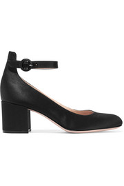 Gianvito Rossi Satin Mary Jane pumps