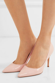 Gianvito Rossi Patent-leather point-toe pumps