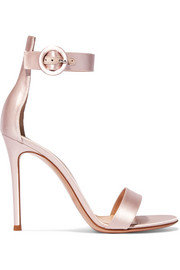 Gianvito Rossi Portofino satin sandals