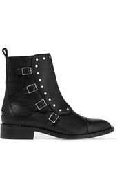 Jimmy Choo Baxter studded leather ankle boots
