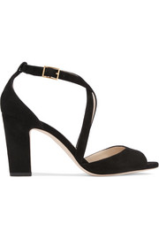 Jimmy Choo Carrie suede sandals