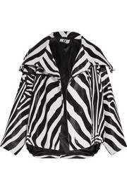 Vaughn oversized zebra-print calf hair jacket