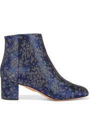 Brooklyn jacquard ankle boots