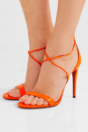 Linda patent-leather sandals