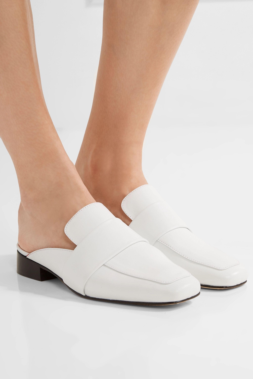 DORATEYMUR Filiskiye leather slippers