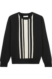 Chinti and Parker Striped intarsia merino wool sweater