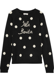 Chinti and Parker Isla Bonita intarsia cashmere sweater